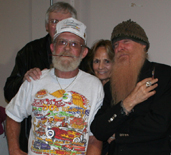 Pete and Jakes' Jerry & Peggy Slover, Bob Bond and Billy Gibbons.